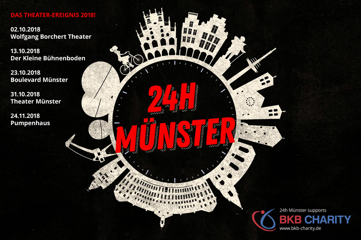 24 hour Münster – Theatre Event 2018