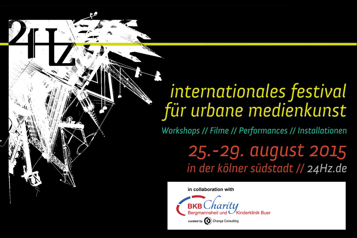 24Hz – Internationales Festival für urbane Medienkunst in Köln