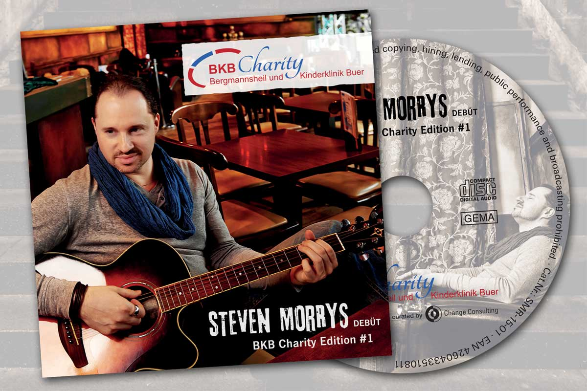Charity-CD: Steven Morrys